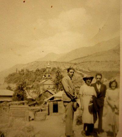 Iglesia de Montegrande en los años 30